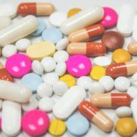 pastillas de colores farmacos